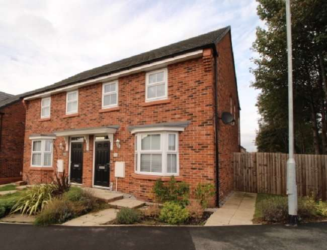 3 Bedrooms Semi Detached House for sale in Moss Lane, Sandbach, Cheshire, CW11