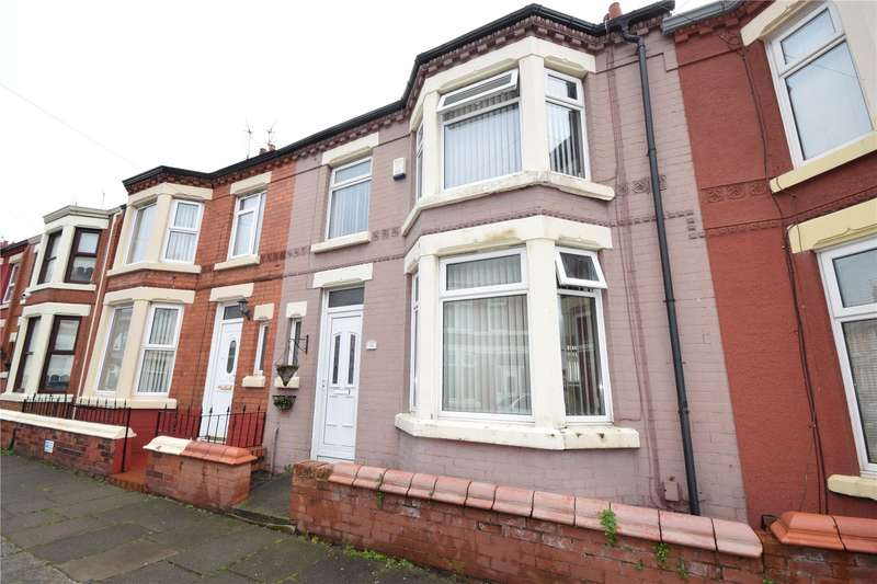 3 Bedrooms Terraced House for sale in Lumley Street, Garston, Liverpool, L19