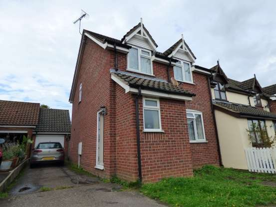 3 Bedrooms Terraced House for sale in Noyes Avenue, Woodbridge, Suffolk, IP13 8EB