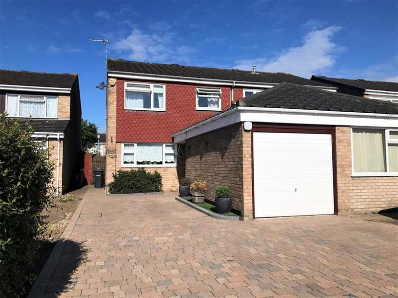3 Bedrooms Semi Detached House for sale in Tunfield Road, Hoddesdon