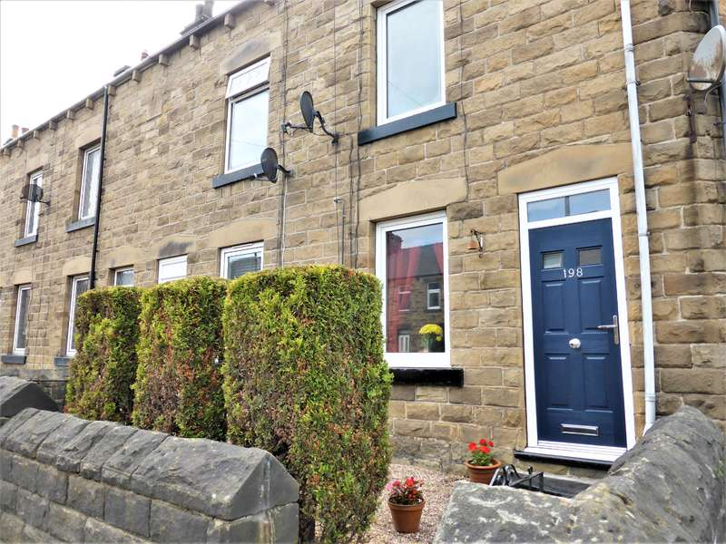 2 Bedrooms Terraced House for sale in Sheffield Road, Birdwell, Barnsley, S70 5TF