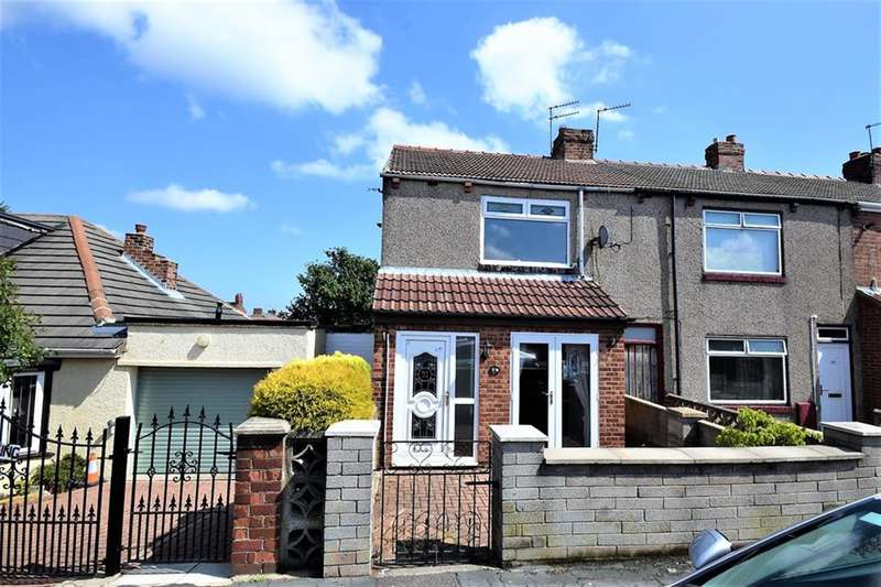 3 Bedrooms End Of Terrace House for sale in Hardwick Street, Blackhall Colliery, Hartlepool, Cleveland, TS27 4LS
