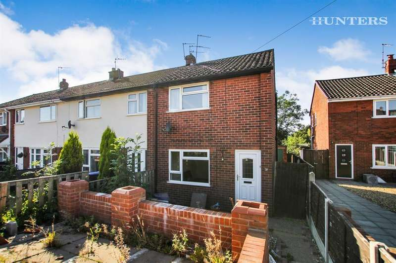 2 Bedrooms End Of Terrace House for sale in Coppice Close, Biddulph, ST8 6EU