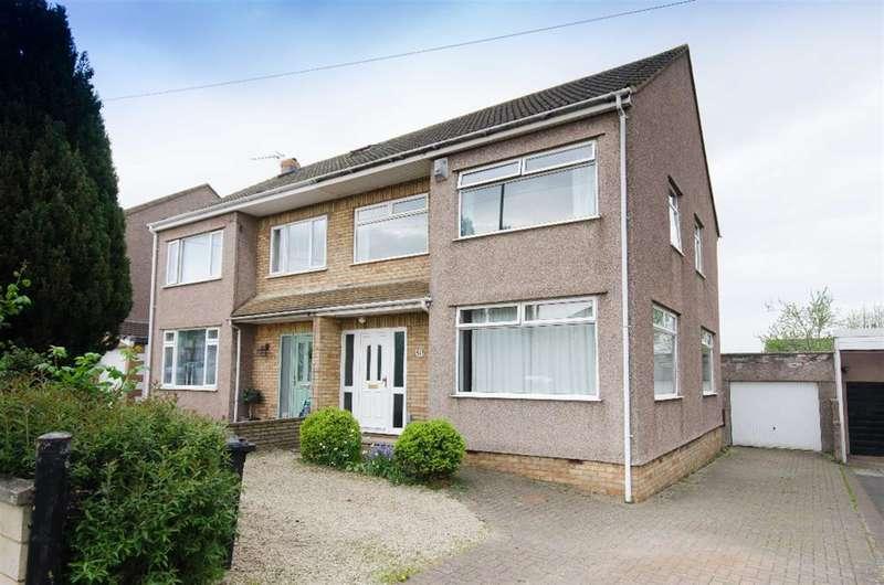 3 Bedrooms Semi Detached House for sale in Blackhorse Road, Mangotsfield, Bristol, BS16 9BE