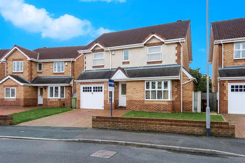 4 Bedrooms Detached House for sale in Redhill Walk, Castleford, WF10 4SJ