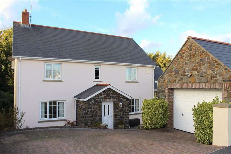 4 Bedrooms Detached House for sale in Liddeston Valley, Hubberston, Milford Haven