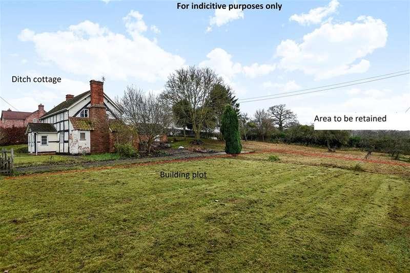 3 Bedrooms Plot Commercial for sale in The Building plot, The Ditch , 44 Ashperton Road, Ashperton Nr Ledbury, Herefordshire , HR8 2RY