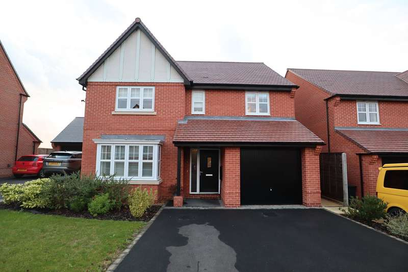 5 Bedrooms Detached House for sale in Quincy Close, Bramcote Manor, Nuneaton, CV11