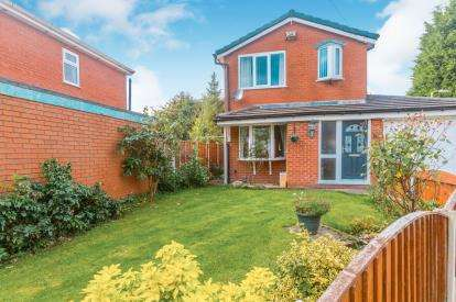 3 Bedrooms Detached House for sale in Pewfist Green, Westhoughton, Bolton, Greater Manchester, BL5