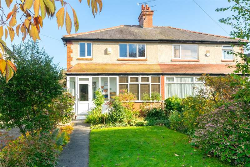 3 Bedrooms Semi Detached House for sale in Newport View, Leeds, West Yorkshire, LS6