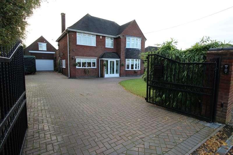 4 Bedrooms Detached House for sale in Nuneaton Road, Bulkington, Bedworth, CV12