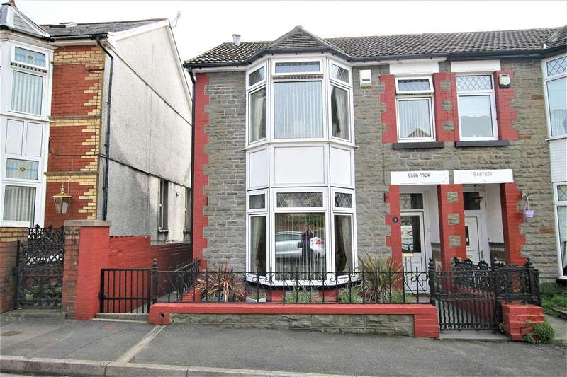 5 Bedrooms Semi Detached House for sale in Vaynor Street, Glen View House, Porth