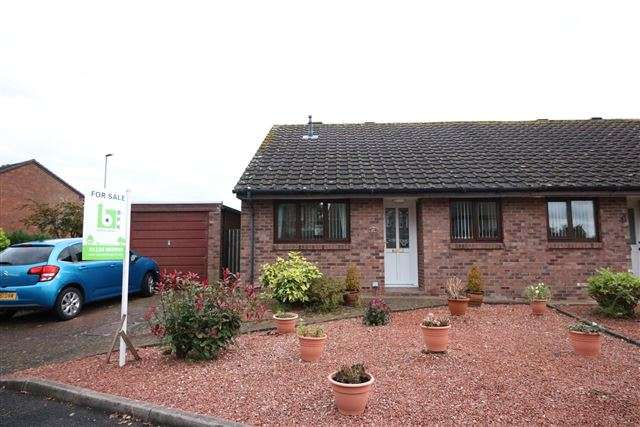 2 Bedrooms Semi Detached Bungalow for sale in St. Peters Drive, Carlisle, Cumbria, CA3 0QB