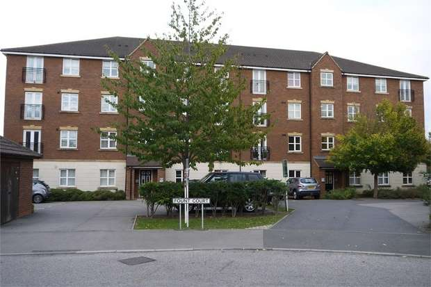 1 Bedroom Flat for sale in Fount Court, Market Harborough, Leicestershire
