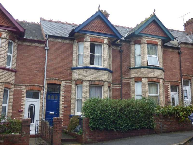 5 Bedrooms Terraced House for rent in Mount Pleasant Road, Exeter, EX4 7AD