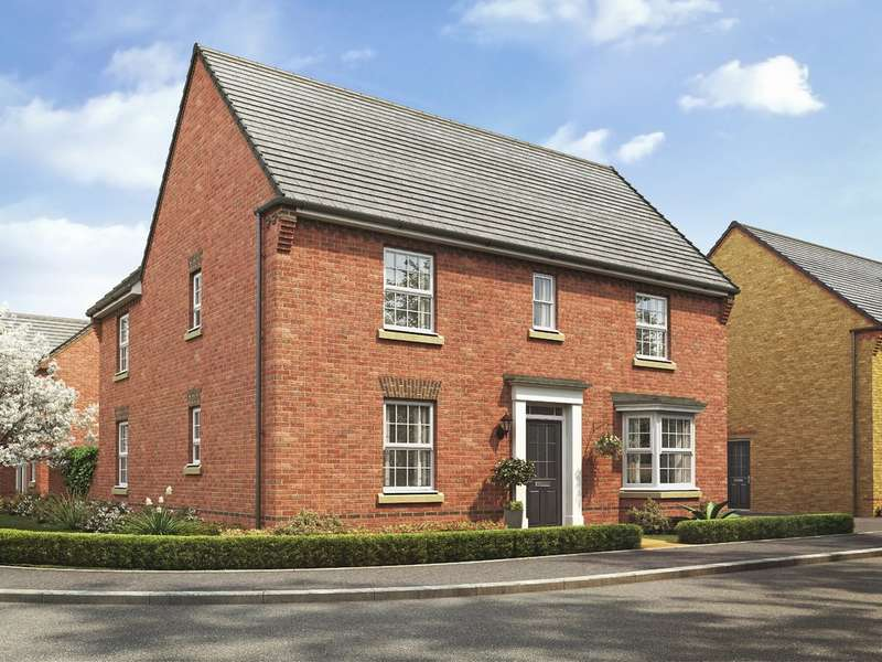 4 Bedrooms Detached House for sale in The Layton, Bentley Fields, Sorrell Close