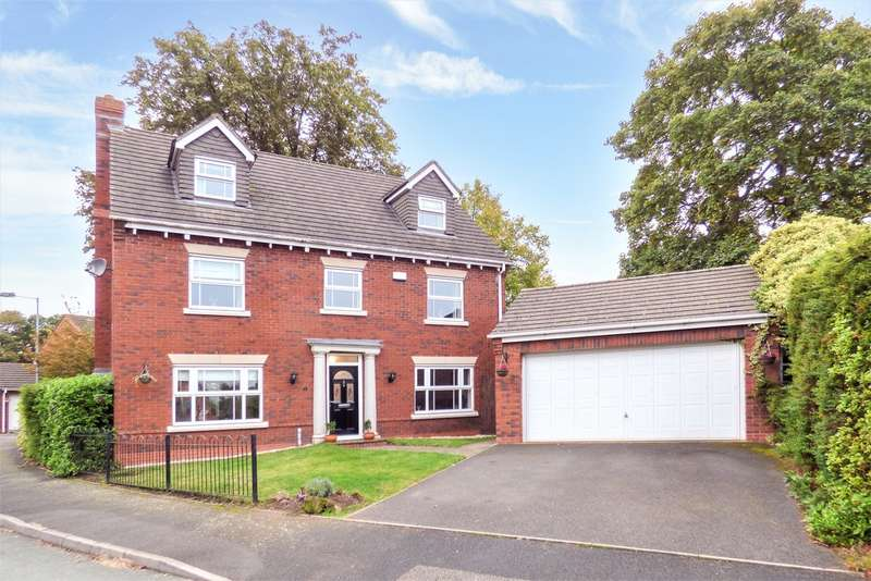 5 Bedrooms Detached House for sale in Shaftesbury Drive, Burntwood