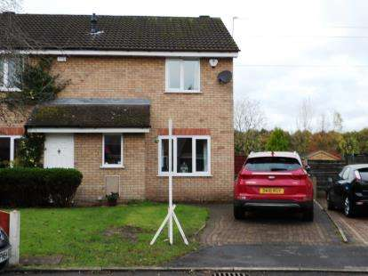 3 Bedrooms Semi Detached House for sale in Avocet Drive, Broadheath, Altrincham, Greater Manchester