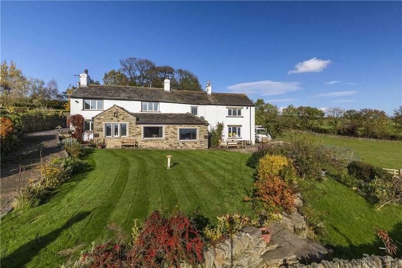 4 Bedrooms Detached House for sale in Hole Lane, Silsden, Keighley, West Yorkshire