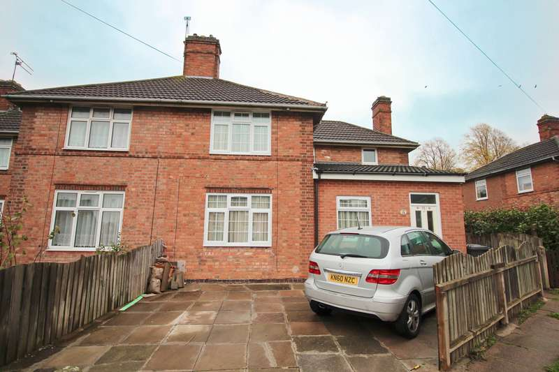 4 Bedrooms Semi Detached House for sale in The Wayne Way, Leicester, LE5