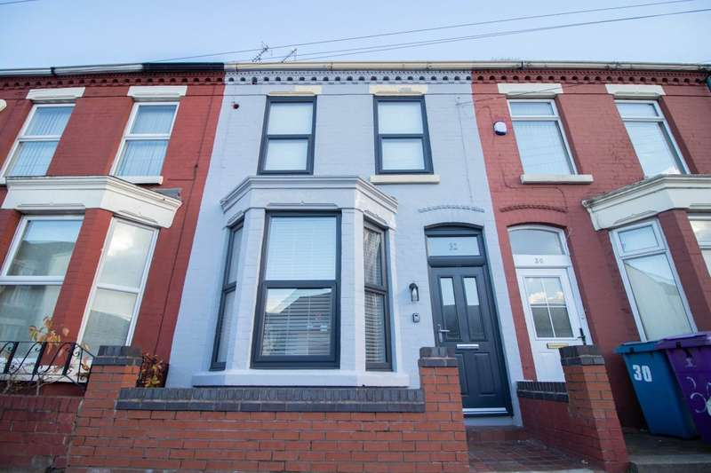 6 Bedrooms Terraced House for rent in Thornycroft Road, Wavertree, Liverpool, L15 0EW