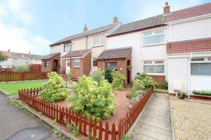2 Bedrooms Terraced House for sale in Milton Court, Dreghorn, Irvine, North Ayrshire