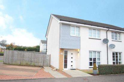 3 Bedrooms Semi Detached House for sale in Cochran Avenue, Neilston, Glasgow, East Renfrewshire