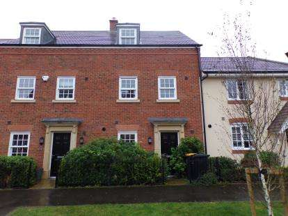 3 Bedrooms Terraced House for sale in Lewis Close, Kempston, Bedford, Bedfordshire