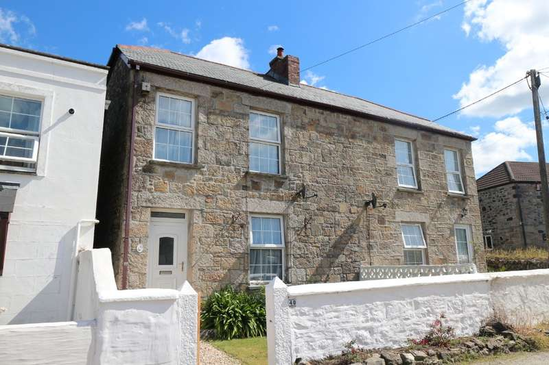 3 Bedrooms Semi Detached House for sale in Tehidy Road, Camborne