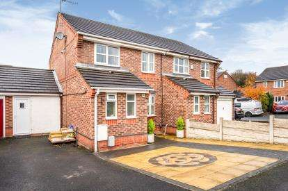 3 Bedrooms Semi Detached House for sale in Fallowfield Way, Atherton, Manchester, Greater Manchester, M46