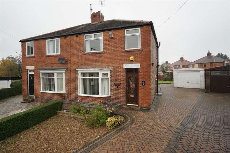 3 Bedrooms Semi Detached House for sale in Birklands Close, Handsworth, Sheffield, S13 8JJ
