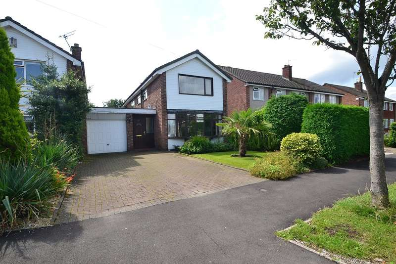 4 Bedrooms Detached House for sale in Penrhyn Crescent, Hazel Grove, Stockport SK7 5NF