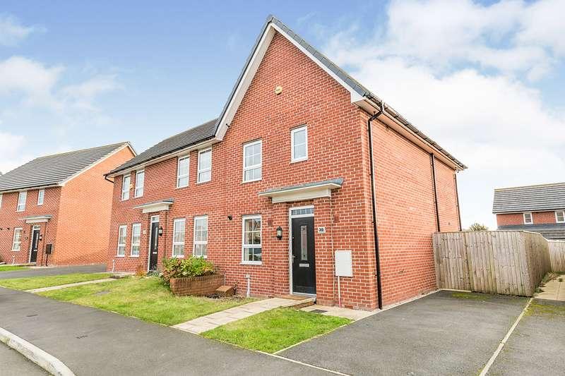 3 Bedrooms Semi Detached House for sale in Townsend Drive, Buckshaw Village, Chorley, Lancashire, PR7