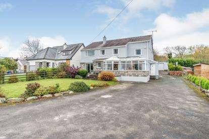 5 Bedrooms Detached House for sale in Rhostryfan, Caernarfon, Gwynedd, LL54