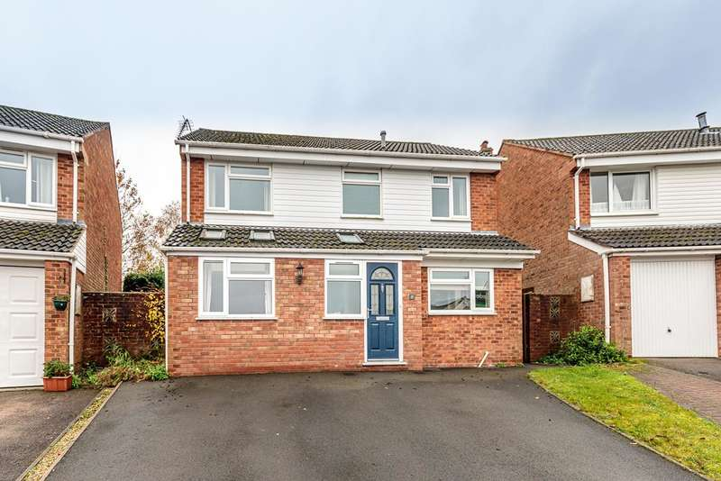 4 Bedrooms Detached House for sale in Oak Crescent, Woolaston