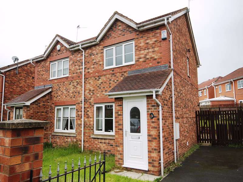 2 Bedrooms Semi Detached House for rent in Wood Park View, Athersley North, Barnsley