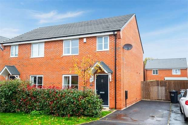 3 Bedrooms Semi Detached House for sale in Wilding Drive, Crewe, Cheshire