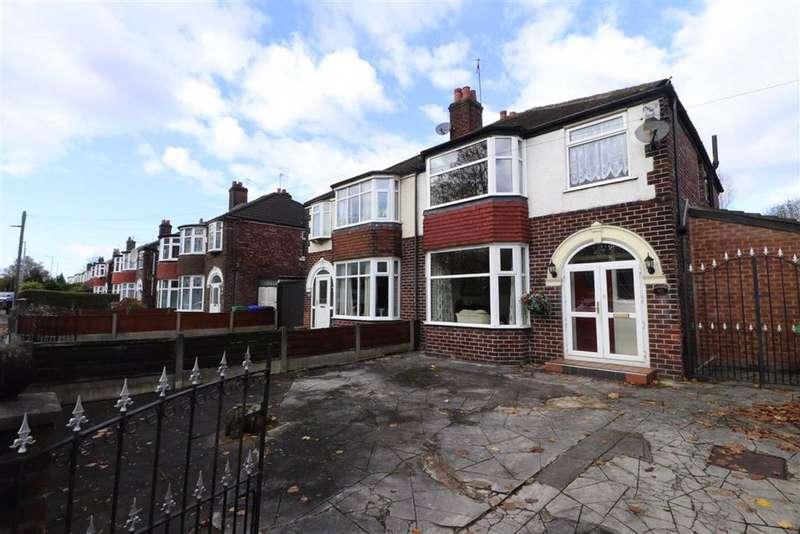 3 Bedrooms Semi Detached House for sale in Mauldeth Road West, Chorlton, Manchester, M21
