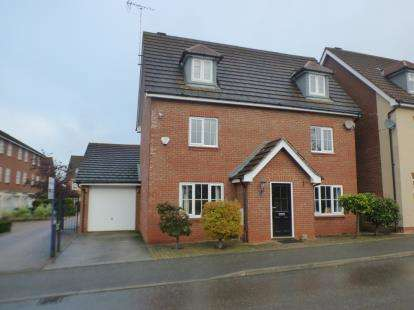 5 Bedrooms Detached House for sale in Nicolson Drive, Leighton Buzzard, Beds, Bedfordshire