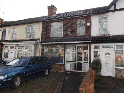 2 Bedrooms Terraced House for sale in Washwood Heath Road, Washwood Heath, Birmingham, West Midlands