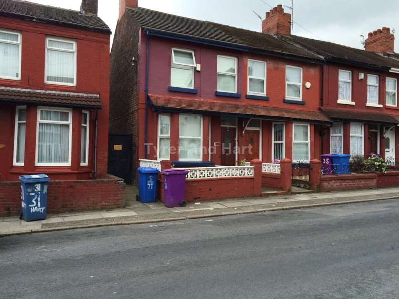 3 Bedrooms Terraced House for rent in Hartington Road, West Derby
