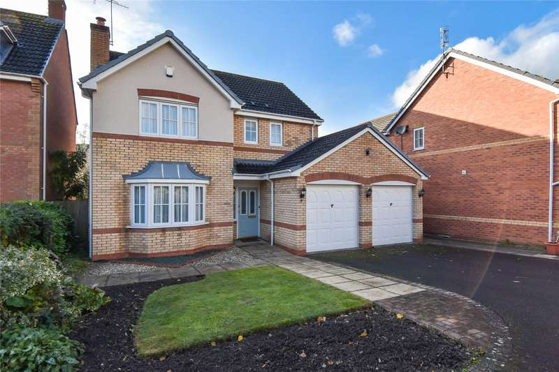 4 Bedrooms Detached House for sale in Alhambra Road, Bromsgrove, Worcestershire, B60