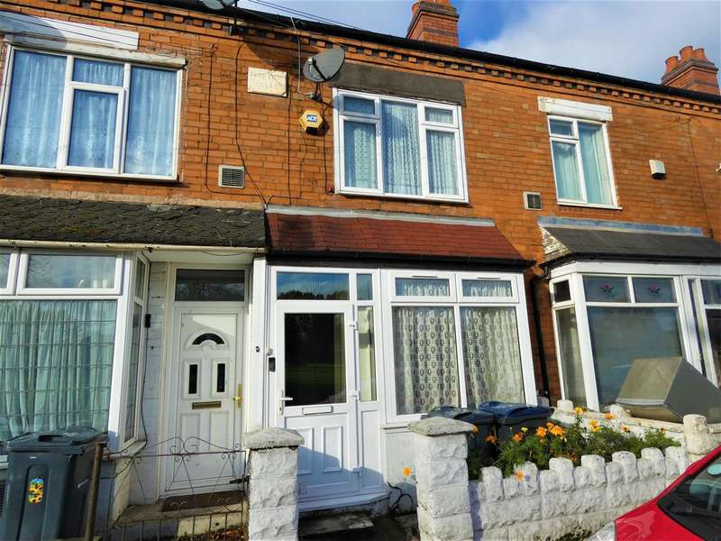 3 Bedrooms Terraced House for sale in Holder Road, Yardley, Birmingham