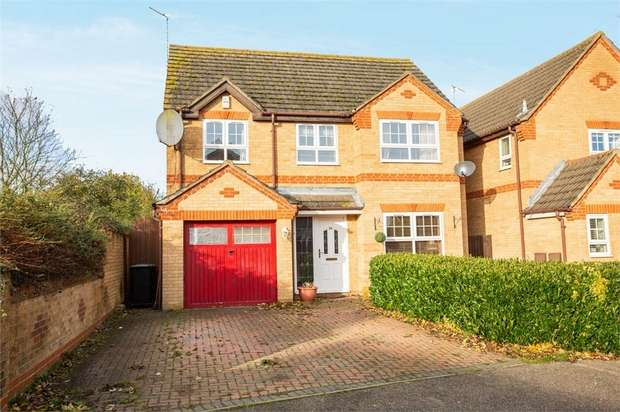 4 Bedrooms Detached House for sale in Tyler Way, Thrapston, Kettering, Northamptonshire