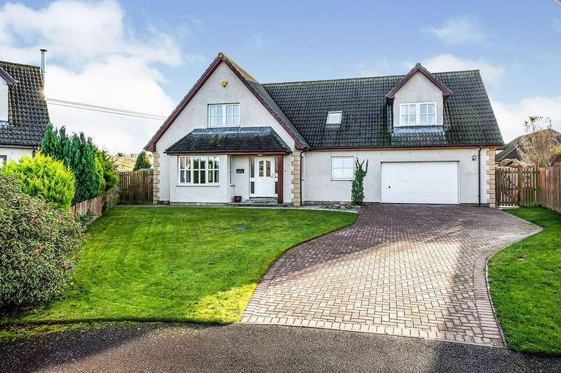 5 Bedrooms Detached House for sale in 17 Beinn View, Conon Bridge, IV7
