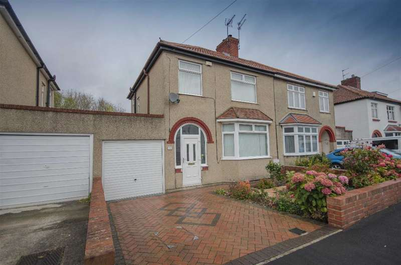 3 Bedrooms Semi Detached House for sale in Acacia Avenue, Staple Hill, Bristol, BS16 4NN