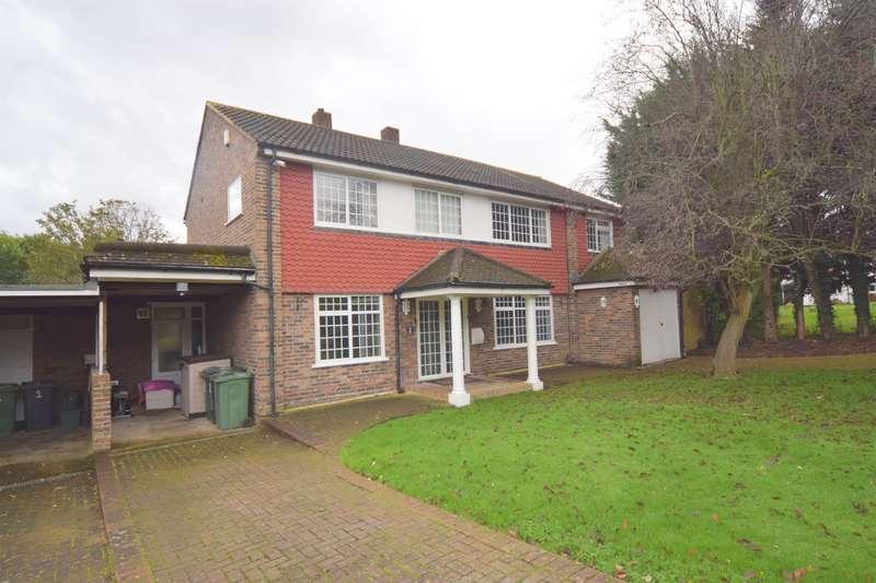 4 Bedrooms Detached House for sale in Delta Close, Worcester Park, KT4