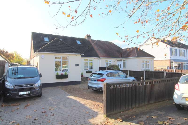 4 Bedrooms Semi Detached House for sale in Kingston Road, Ashford/Laleham borders, TW15
