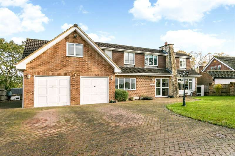 5 Bedrooms Detached House for sale in School Road, Waltham St. Lawrence, Reading, Berkshire, RG10