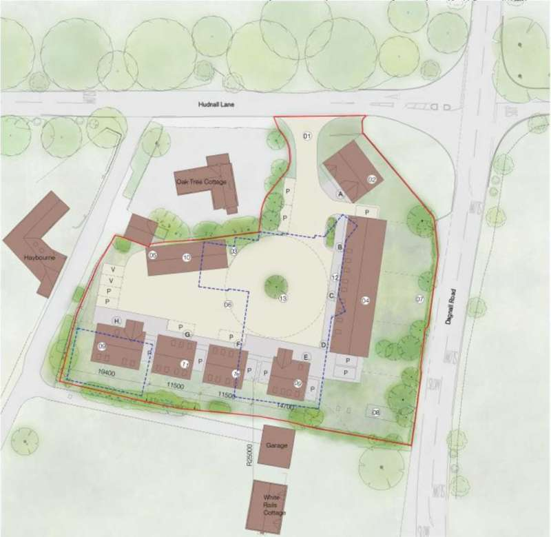 Land Commercial for sale in ** DEVELOPERS AWARE - BERKHAMSTED / HH OUTSKIRTS - PLANNING GRANTED FOR 8 MIXED SIZE UNITS **